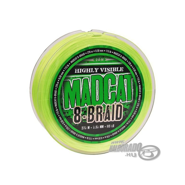 MAD CAT G2 8 Braid - 270 m 0,60 mm