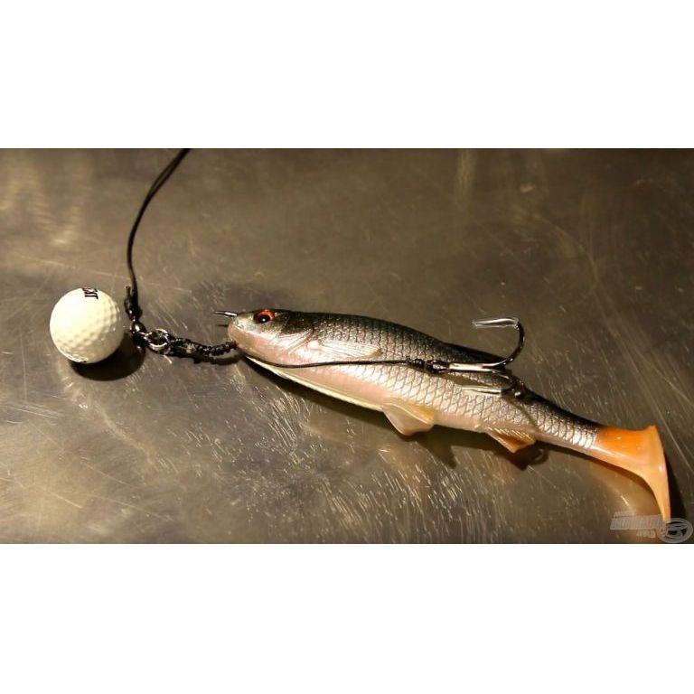 MAD CAT Gold Ball Snap-On Vertiball Rig Sinking 180 g - 8/0 + 3/0