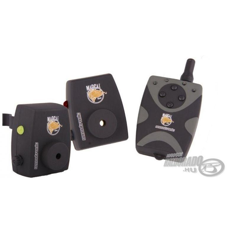 MAD CAT Sensotronic harcsás kapásjelző készlet 2+1