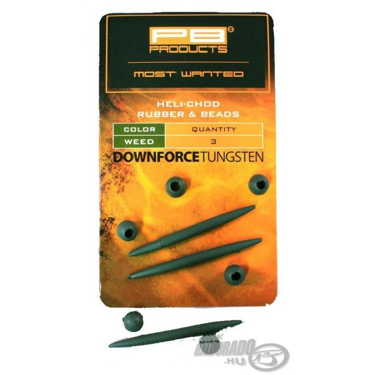 PB PRODUCTS Downforce Heli-Chod Rubber & Beads Weed