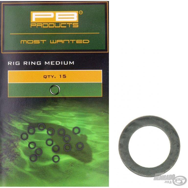 PB PRODUCTS Hajszálelőke gyűrű - Rig Rings 3,0 mm