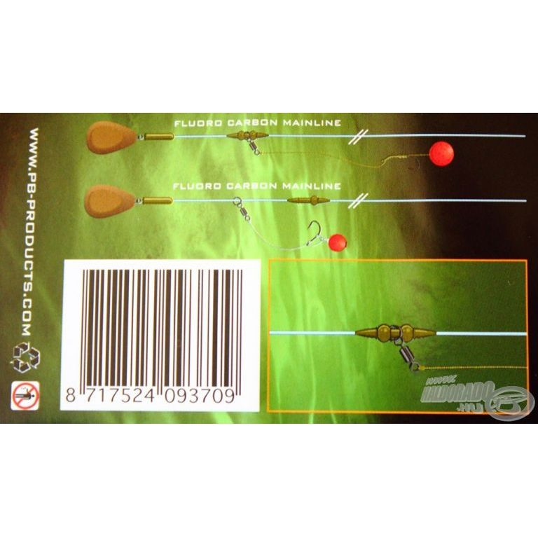 PB PRODUCTS Heli-Chod Rubber & Beads X-small