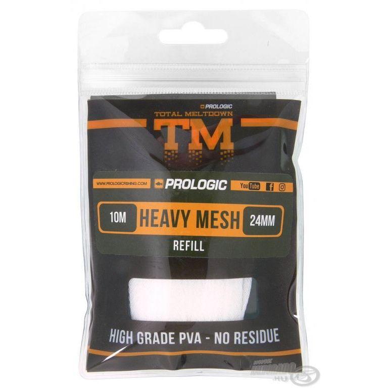PROLOGIC TM PVA Heavy Mesh utántöltő 10 m 24 mm