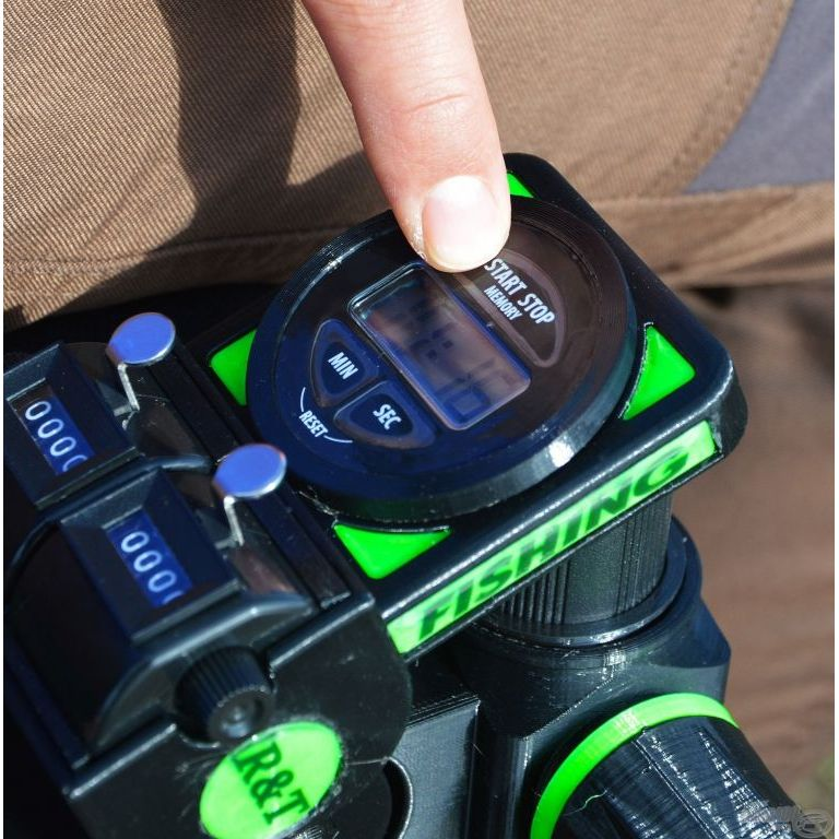 R&T Dupla halszámláló digitális stopperrel