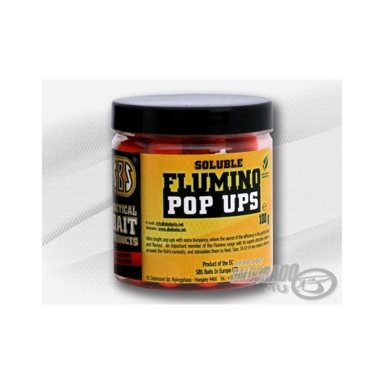 SBS Flumino Pop Up Soluble bojli - Squid & Octopus