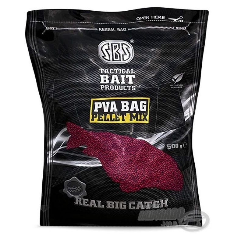 SBS PVA Bag Pellet Mix - Strawberry