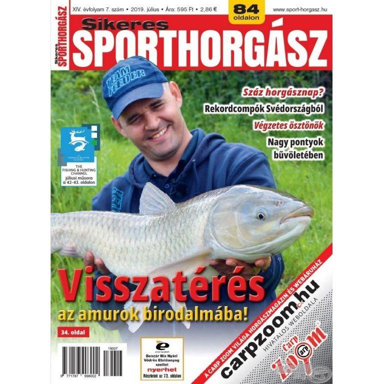 Sikeres Sporthorgász 2019. július