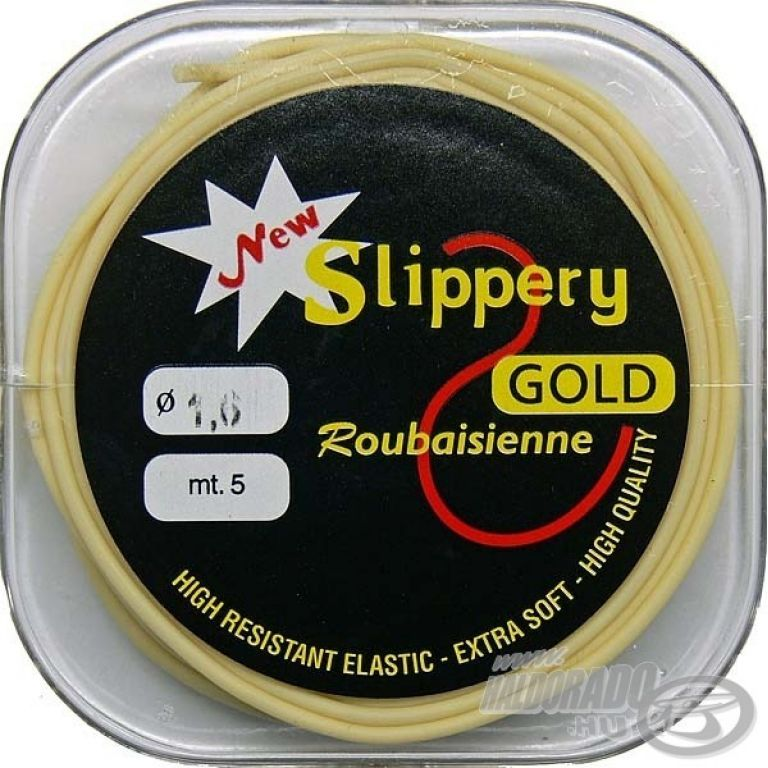 SLIPPERY GOLD Latex gumi - 0,9 mm