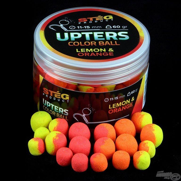 STÉG PRODUCT Upters Color Ball 11-15 mm - Lemon & Orange