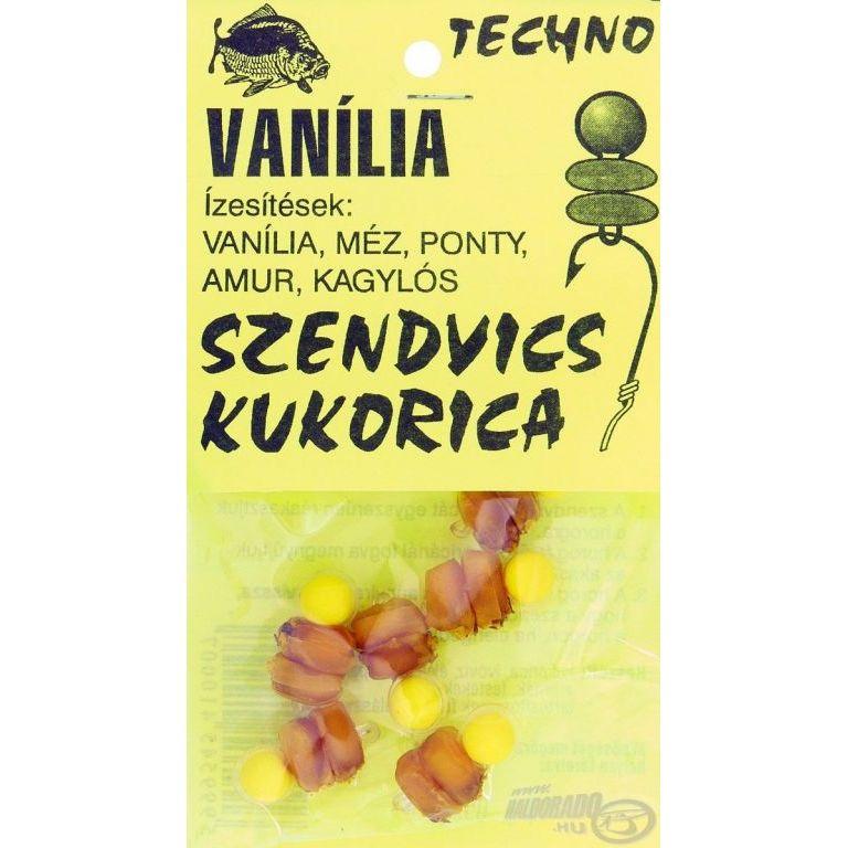 TECHNO Szendvics kukorica vanília