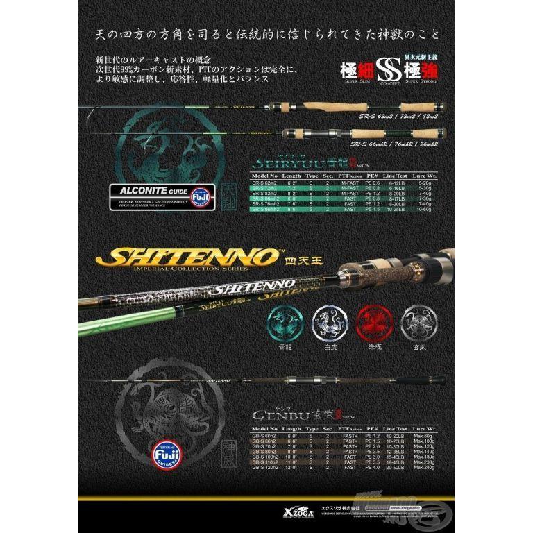 XZOGA Shitenno Genbu GB-S 80H2
