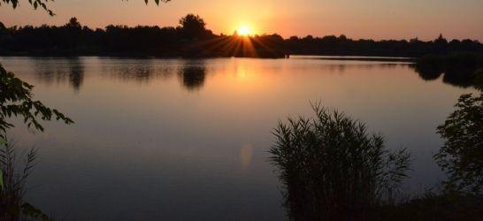 Orosházi Béke homokbánya horgásztó